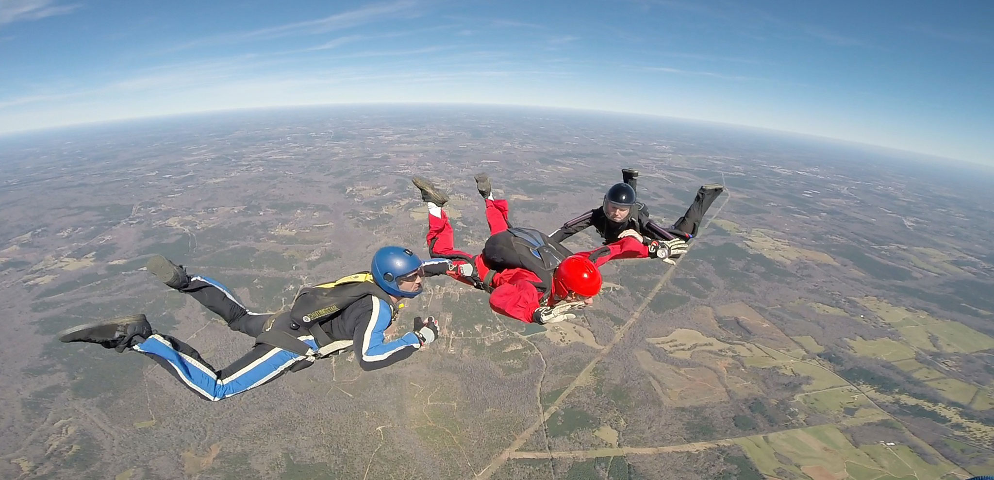 Solo skydiving certification at Skydive Atlanta
